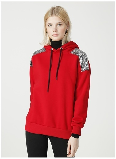 Loft Sweatshirt Kırmızı